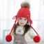 หมวก สีแดง แพ็ค 5ใบ ไซส์ 1-8 ปี รอบศรีษะ22 * 23 ซม thumbnail 3