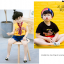 ถุงเท้าสั้น คละสี แพ็ค 10คู่ ไซส์ XL (อายุประมาณ 9-12 ปี) thumbnail 10