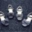 รองเท้าเด็กแฟชั่น สีดำ แพ็ค 5 คู่ ไซต์ 26-27-28-29-30 thumbnail 4