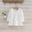 เสื้อ สีขาว แพ็ค 5ชุด ไซส์ 100-110-120-130-140 thumbnail 1