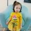 เสื้อ+กระโปรง สีเหลือง แพ็ค 5 ชุด ไซส์ 7-9-11-13 thumbnail 2