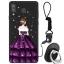 เคส Samsung A8 Star ซิลิโคนสกรีนลายผู้หญิงแสนสวย ราคาถูก (แหวนและสายคล้องแล้วแต่ร้านจีนแถมมาหรือไม่แถม) thumbnail 11