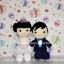 ตุ๊กตาแต่งงาน เจ้าบ่าวเจ้าสาว 12 นิ้ว thumbnail 3