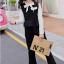 เสื้อกั๊ก+เสื้อตัวใน+กางเกง สีดำ แพ็ค 5 ชุด ไซส์ 120-130-140-150-160 (เลือกไซส์ได้) thumbnail 4