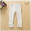 เลคกิ้ง สีขาว แพ็ค 5ชุด ไซส์ 100-110-120-130-140 thumbnail 5