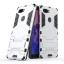 เคส Nubia Z17S เคสกันกระแทกแยกประกอบ 2 ชิ้น ด้านในเป็นซิลิโคนสีดำ ด้านนอกพลาสติกเคลือบเงาโลหะเมทัลลิค มีขาตั้งสามารถตั้งได้ สวยมากๆ เท่สุดๆ ราคาถูก thumbnail 2