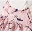 ชุดเดรสสีชมพูลายดอกไม้ [size 6m-1y-18m-2y] thumbnail 4