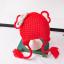 หมวก สีแดง แพ็ค 5ใบ ไซส์ 1-3 ปี รอบศรีษะ17 * 20 ซม thumbnail 1