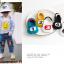 ถุงเท้าสั้น คละสี แพ็ค 10คู่ ไซส์ XL (อายุประมาณ 9-12 ปี) thumbnail 9