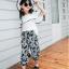 เสื้อ+กางเกง สีดำ แพ็ค 5 ชุด ไซส์ 120-130-140-150-160 (เลือกไซส์ได้) thumbnail 8