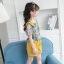 เสื้อ+กางเกง สีเหลือง แพ็ค 6 ชุด ไซส์ 110-120-130-140-150-160 (เลือกไซส์ได้) thumbnail 5