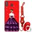 เคส Samsung A8 Star ซิลิโคนสกรีนลายผู้หญิงแสนสวย ราคาถูก (แหวนและสายคล้องแล้วแต่ร้านจีนแถมมาหรือไม่แถม) thumbnail 8