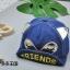 หมวก สีน้ำเงิน แพ็ค 5ใบ ไซส์รอบศรีษะ 48cm thumbnail 1