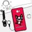 เคส Samsung A9 Pro ซิลิโคน soft case สกรีนลายการ์ตูนน่ารักๆ พร้อมสายคล้องและแหวน ราคาถูก thumbnail 4