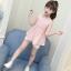 เสื้อ สีชมพู แพ็ค 5 ชุด ไซส์ 110-120-130-140-150 (เลือกไซส์ได้) thumbnail 1