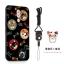 เคส Huawei GR5 (2017) พลาสติกสกรีนลายการ์ตูนน่ารักๆ พร้อมแหวนและสายคล้อง ราคาถูก thumbnail 8