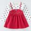 เสื้อ สีแดง แพ็ค 5 ชุด ไซส์ 80-90-100-110-120 (เลือกไซส์ได้) thumbnail 1