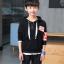 เสื้อคลุม สีดำ แพ็ค 5 ชุด ไซส์ 120-130-140-150-160 (เลือกไซส์ได้) thumbnail 1