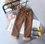 กางเกง (ด้านในมีขนอ่อนๆ) สีน้ำตาล แพ็ค 5 ชุด ซส์ 7-9-11-13-15 thumbnail 1