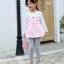 เสื้อ สีชมพู แพ็ค 5 ชุด ไซส์ 80-90-100-110-120 (เลือกไซส์ได้) thumbnail 3