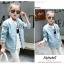 เสื้อแจ็คเก็ตสีฟ้า [size 5y-6y-7y-8y-9y-10y] thumbnail 3