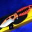 Buck PakLite Series Skinner(Orange/Black) BU140ORSPC