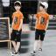 เสื้อ+กางเกง สีช็อคโกแลต แพ็ค 5 ชุด ไซส์ 130-140-150-160-170 (เลือกไซส์ได้) thumbnail 2