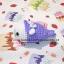 ตุ๊กตาถัก แมวน้ำชุดม่วง thumbnail 2