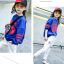 เสื้อ สีน้ำเงิน แพ็ค 5 ชุด ไซส์ 120-130-140-150-160 (เลือกไซส์ได้) thumbnail 2