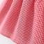 ชุดเดรสลายสก็อตสีแดงปกคอสีขาว แพ็ค 3 ชุด [size 1y-18m-2y] thumbnail 6