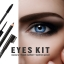 MENOW Brand Eyes Makeup Kit Mascara&Liquid Eyeliner&Eyebrow Pencil Waterproof Eyes Make Up Combination Cosmetic Set thumbnail 2