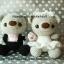 ตุ๊กตาแต่งงาน หมีบ่าวสาว แบบ1 thumbnail 3