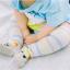ถุงเท้ายาว ลายจิ้งจอก สีเทา แพ็ค 10 คู่ ไซส์ M (อายุประมาณ 6-12 เดือน) thumbnail 2