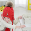 หมวก สีแดง แพ็ค 5ใบ ไซส์ 1-8 ปี รอบศรีษะ22 * 23 ซม thumbnail 2