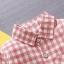 เสื้อแขนยาวลายสก็อตสีแดง [size 6m-1y-2y-3y] thumbnail 2