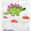 เสื้อยืดเด็ก ลายไดโนเสาร์สีเขียว Size S thumbnail 2