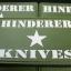 HINDERER KNIVES MORALE PATCH STAR PVC