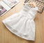 ชุดกระโปรง สีขาว แพ็ค 5ชุด ไซส์ 100-110-120-130-140 thumbnail 5