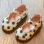 รองเท้าเด็กแฟชั่น สีขาว แพ็ค 5 คู่ ไซต์ 21-22-23-24-25 thumbnail 1