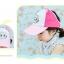 หมวกโรบอทสีชมพู แพ็ค 3 ชิ้น thumbnail 2