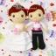 ตุ๊กตาแต่งงาน เจ้าบ่าวเจ้าสาว 9 นิ้ว แบบ2 thumbnail 3