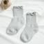ถุงเท้าสั่น สีเทา แพ็ค 12คู่ ไซส์ S (ประมาณ 1-3 ปี) thumbnail 1