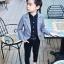 เสื้อสูทเด็กชายสีเทา (เฉพาะเสื้อสูทค่ะ) [size 2y-3y-4y-5y-6y] thumbnail 2