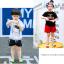 ถุงเท้าสั้น คละสี แพ็ค 10คู่ ไซส์ M (อายุประมาณ 3-5 ปี) thumbnail 10