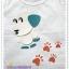เสื้อยืดเด็ก ลายหมาหูเขียว Size L thumbnail 1