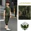 เสื้อ+กางเกง ลายพราง แพ็ค 5 ชุด ไซส์ 120-130-140-150-160 (เลือกไซส์ได้) thumbnail 4