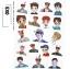 สติ๊กเกอร์ไดคัท EXO thumbnail 1