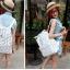 กระเป๋าแฟชั่น(สีขาว)MCM thumbnail 2