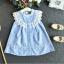เสื้อ สีฟ้า แพ็ค 5ชุด ไซส์ 100-110-120-130-140 thumbnail 3