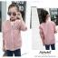 เสื้อแจ็คเก็ตสีชมพู [size 5y-6y-7y-8y-9y-10y] thumbnail 4